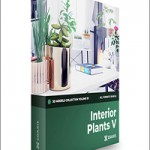 CGAxis Interior Plants 3D Models Collection – Volume 111