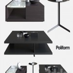 POLIFORM COFFEE TABLES BRISTOL & CLASS & BABA