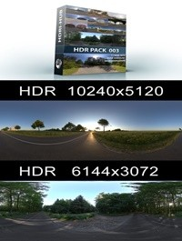 Hdri Hub HDR Pack 003 Roads