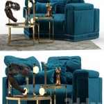 Andrew Sofa by Fendi (Section A)