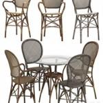 Sika Design Rossini chair Originals table set