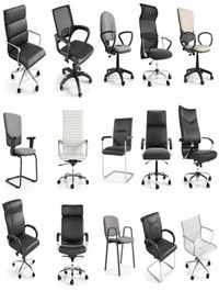 3d Model Office Chairs by Studio Niskota