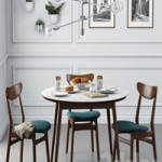 Dining set001 West Elm