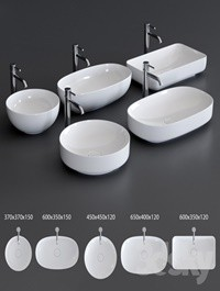 Alice Ceramica Form Washbasin