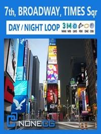 NYC Broadway,7th Av, Times Square