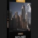 KITBASH 3D Mini Kit: Skylines