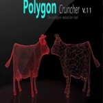 Mootools Polygon Cruncher 12.25 for 3ds Max, Maya & SketchUp