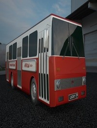 Turbosquid City bus arrow 3D model