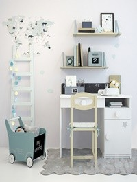 Writing-table and decor for a nursery 1