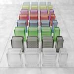 Glass Blocks Decorative Wall