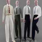 Classic men's clothing