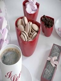 Romantic breakfast set