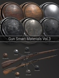 Gumroad - Gun Smart Materials Pack Vol.3