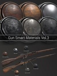 Gumroad - Gun Smart Materials Pack Vol.3