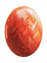 Red Herringbone Wood Parquet PBR Texture