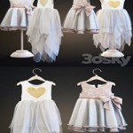 Two childrens dresses