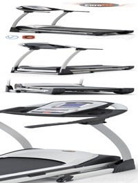 The Pacifica fitness treadmill from Eurofit