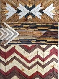 Wooden wall trim