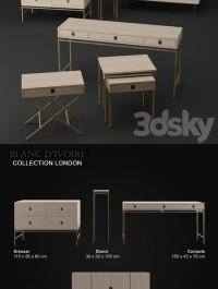 Blanc d39 ivoire LONDON collection