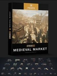 Kitbash3D Props: Medieval Market