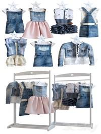 Jeans dresses for a little princesse