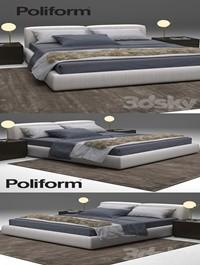 Bolton Bed Poliform
