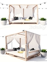 AVIARA CANOPY DAYBED