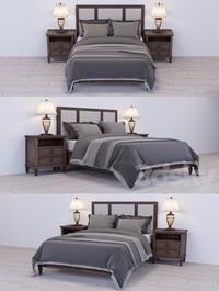 Lexington Vintage Bed Set 2