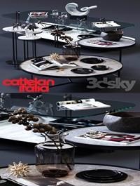 Cattelan Italia Coffee Tables Set 02