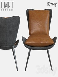 Chair LoftDesigne 2044 model