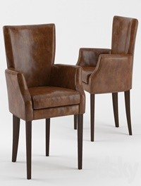 B & B Leather Armchair