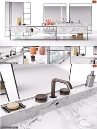 RIG Modules Bathroom with Decor Set 01