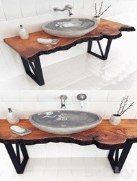 SLAB WASH BASIN
