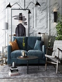 Modern Sofa Set 04