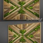 Panel wood art 08