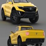 Jamix Ford Raptor pickup truck