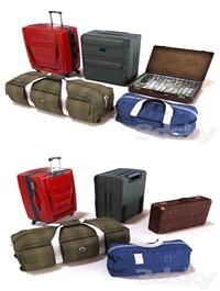 Set of bags kit bags
