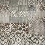 Damask & Decor ceramic with multi texture