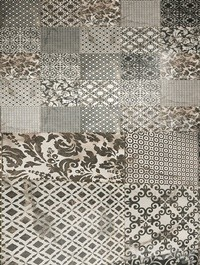 Damask & Decor ceramic with multi texture