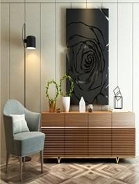 Modern leisure chair Decoative set