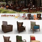 DIGITALXMODELS 3D MODEL COLLECTION VOLUME 10 – CHAIRS