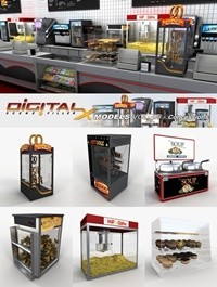 DIGITALXMODELS 3D MODEL COLLECTION VOLUME 09 - CONCESSIONS