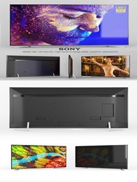 3D Sony X900F LED 49 55 65 75 and 85 inches