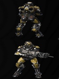 Anthem Warrior Suit