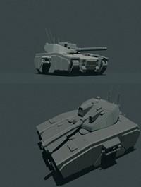 GURTELTIER MBT C3M 3D print model