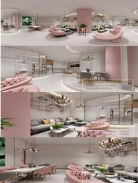 360 Interior Design 2019 Beauty Salon F06