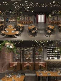360 Interior Design 2019 Restaurant I167