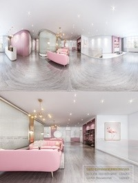 360 Interior Design 2019 Beauty Salon U05