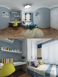 360 Interior Design 2019 Bedroom X03