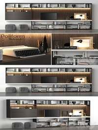 Poliform Storage wall MOLTENI C
